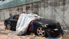 Số phận bí ẩn chiếc Mercedes-Benz S550 tiền tỷ bị vứt bỏ ở Hà Nội