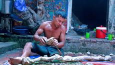 Nghệ sĩ tài hoa phải mò cua, bắt cá kiếm sống qua ngày