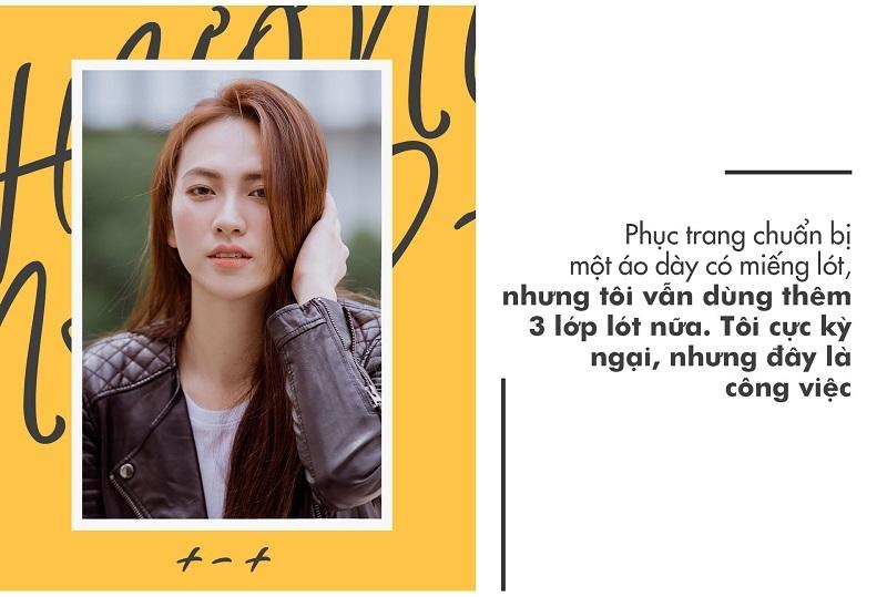 Phương Anh Đào: 'Tôi mặc 3 lớp lót cho cảnh bị Thái Hòa chạm vòng một'