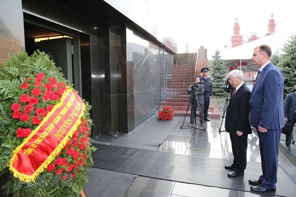 Tổng bí thư Nguyễn Phú Trọng,Nguyễn Phú Trọng,Việt-Nga