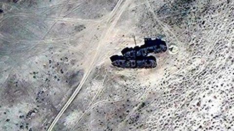 bí ẩn đội tàu biển bỏ hoang giữa sa mạc Trung Á