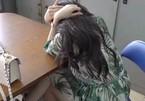 Hình ảnh 'lộ mặt' của á hậu, diễn viên kiêm MC bán dâm tại công an