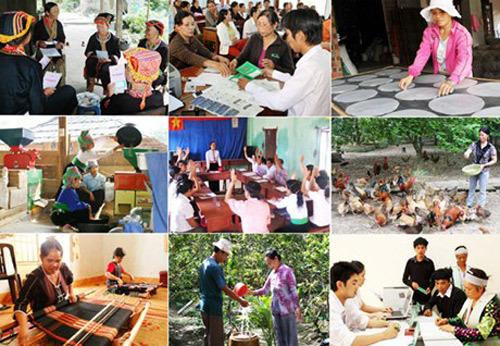 Giảm nghèo đa chiều ở Hà Nội, TP.HCM