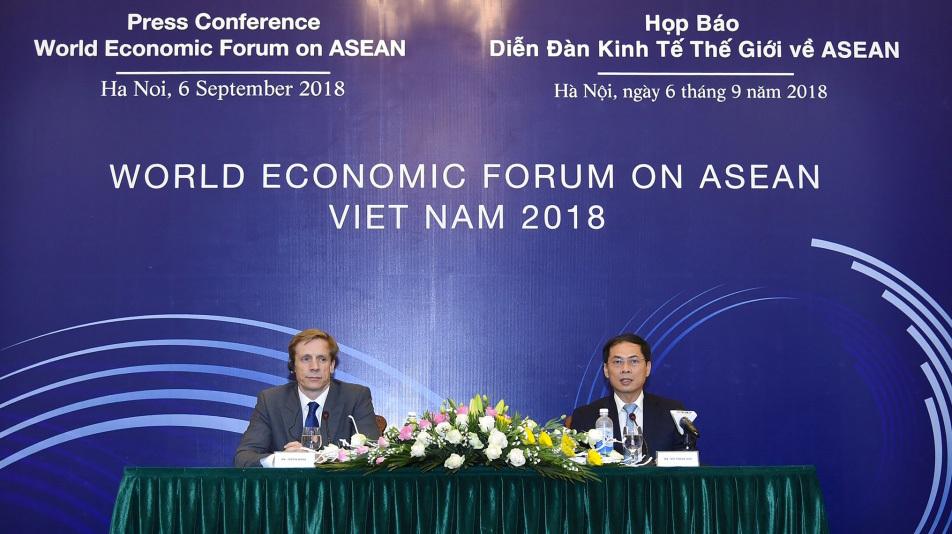 Giám đốc Diễn đàn kinh tế thế giới: WEF, VN có quan hệ đối tác chặt chẽ