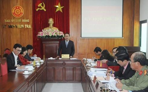 kỷ luật,công an,Lâm Đồng