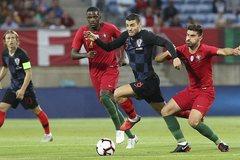 Vắng Ronaldo, Bồ Đào Nha chật vật cầm hòa Croatia