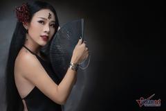 """Hoa Trần khoe lưng trần trong MV cover nhạc phim """"Diên Hy Cung Lược"""""""