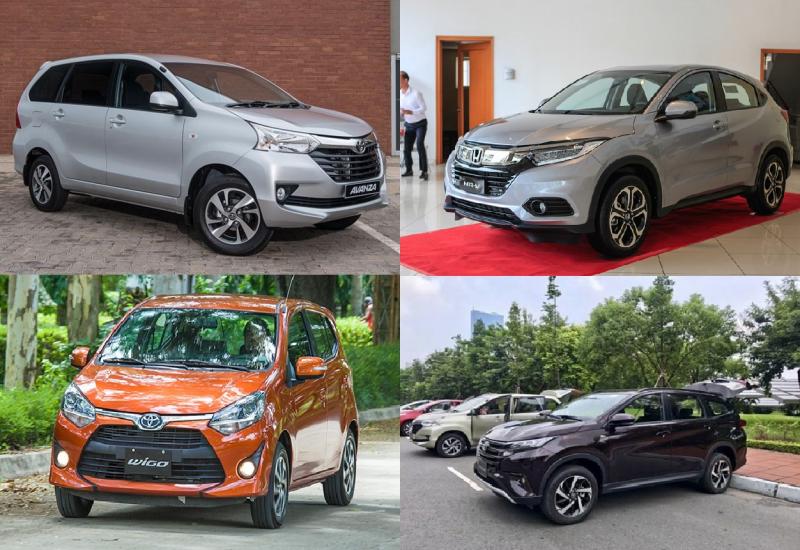 ô tô mới,Toyota Wigo,Toyota Rush,Honda HR-V