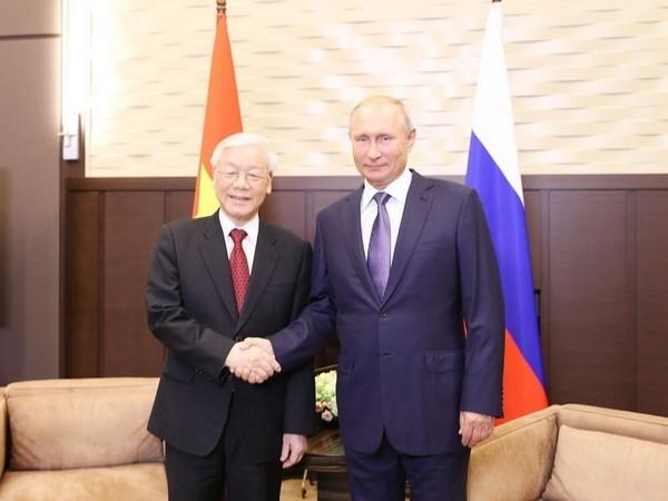 Tổng bí thư,Tổng bí thư Nguyễn Phú Trọng,Putin,Nga