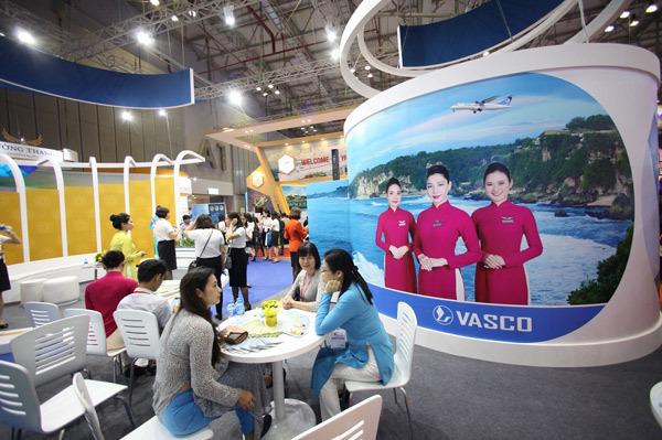 Vé giá rẻ VNA, Jetstar Pacific, VASCO bán trong Hội chợ ITE