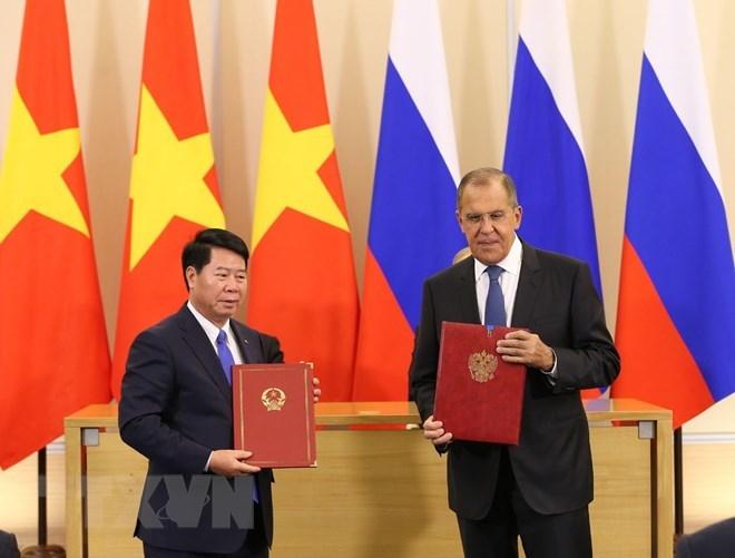 Xung lực mới cho quan hệ Đối tác chiến lược toàn diện Việt-Nga