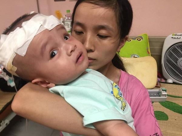 hoàn cảnh khó khăn,bệnh hiểm nghèo,não úng thủy,từ thiện vietnamnet