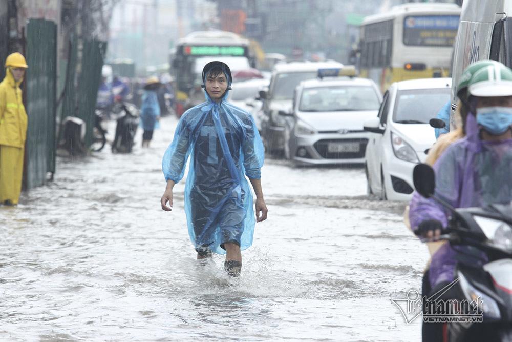 ngập,mưa ngập,ngập lụt,Hà Nội