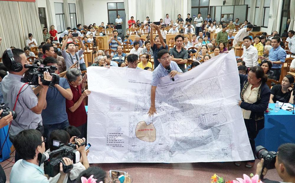 Dự án Thủ Thiêm sai phạm từ quy hoạch đến thu hồi đất, tái định cư