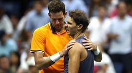 """Nadal """"đầu hàng"""" Del Potro ở bán kết US Open vì chấn thương"""
