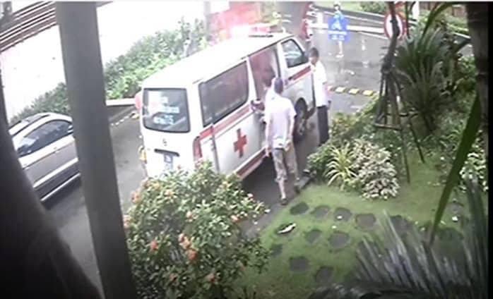 xe cấp cứu,Hà Nội,đột quỵ,chung cư