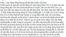 Bình xăng 3,7 lít bơm hết 5,7 lít: Ngã ngửa cây xăng bá đạo nhất Việt Nam