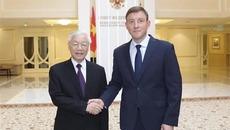 Làm sâu sắc hơn quan hệ đối tác chiến lược toàn diện Việt-Nga