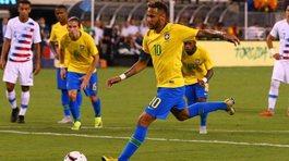 Neymar lập công, Brazil thắng dễ tuyển Mỹ
