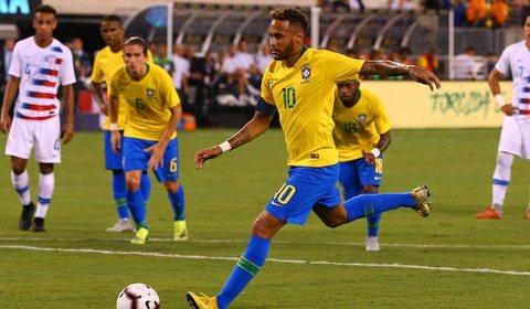 Mỹ 0-2 Brazil
