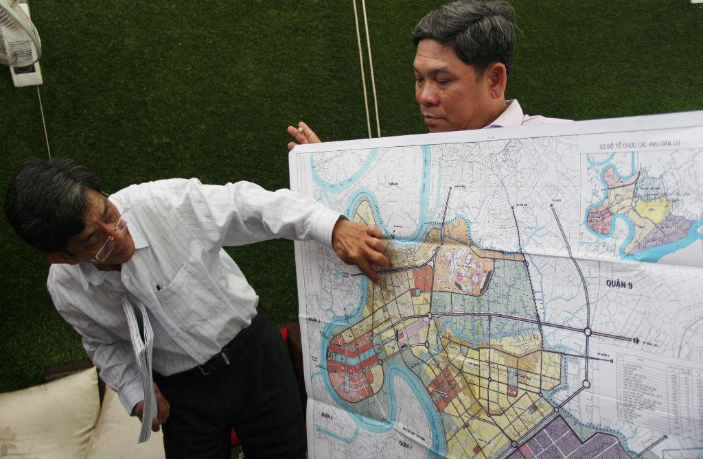 quy hoạch Thủ Thiêm,dự án Thủ Thiêm,Thủ Thiêm,bản đồ Thủ Thiêm