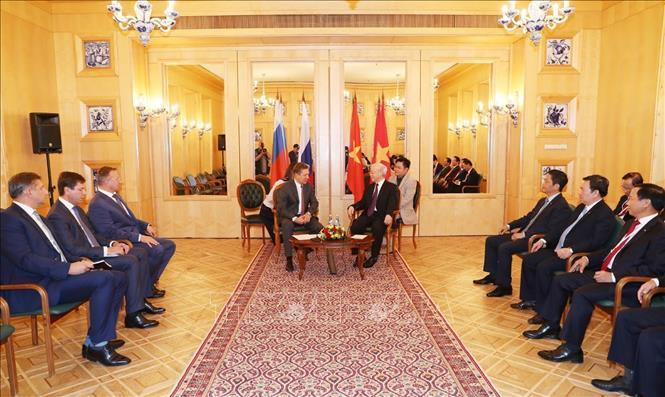 Tổng bí thư Nguyễn Phú Trọng,Nguyễn Phú Trọng,quan hệ Việt-Nga,Việt-Nga