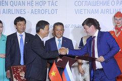 Vietnam Airlines ký thỏa thuận hợp tác cùng hãng hàng không Aeroflot