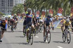 Giải xe đạp VTV Cup Tôn Hoa Sen 2018: Sarda Perez thắng trên đỉnh đèo Hải Vân