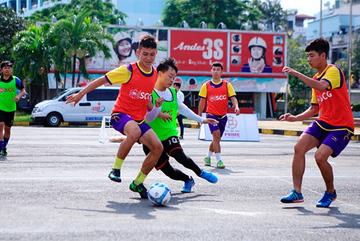 Khai mạc giải SCG Street Football 2018 tại TPHCM