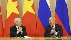 Tổng bí thư gửi điện cảm ơn Tổng thống Vladimir Putin