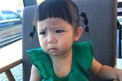 Bé gái Hàn Quốc bất ngờ nổi tiếng nhờ loạt biểu cảm 'khó ở'