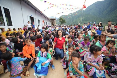 Thêm một ngôi trường cho học sinh Lai Châu