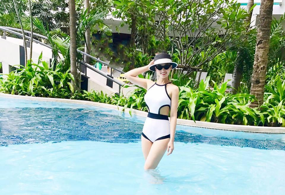 Lã Thanh Huyền - mỹ nhân chăm khoe dáng với bikini