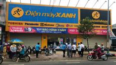Bảo vệ đâm chết nữ quản lý siêu thị Điện máy Xanh