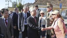Tổng bí thư thăm thành phố Szentendre của Hungary