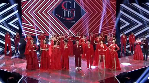 BST Ladies n men in red của NTK Hà Duy