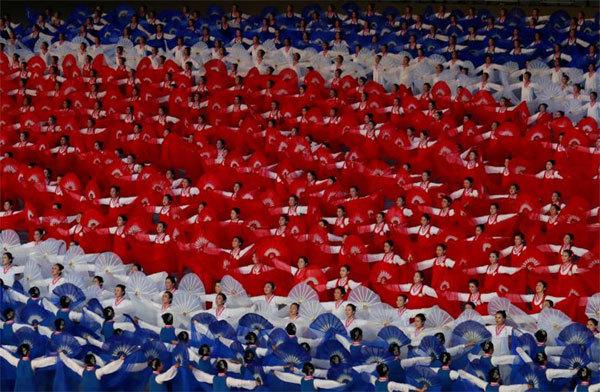 đồng diễn,Triều Tiên,đồng diễn Triều Tiên