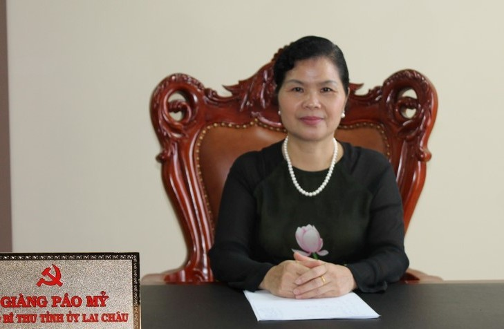 Bà Giàng Páo Mỷ giữ chức Bí thư Tỉnh ủy Lai Châu