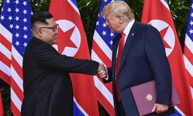 Ông Trump cảm ơn Kim Jong Un
