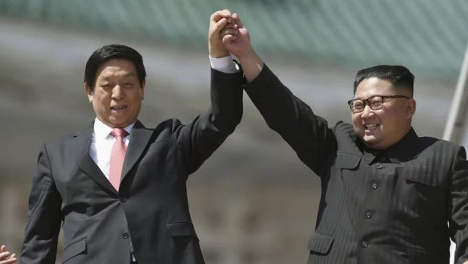 Triều Tiên,Kim Jong Un,Donald Trump,Trung Quốc,Tập Cận Bình,diễu binh,quốc khánh