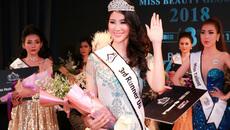Dương Yến Phi đăng quang Á hậu 2 Miss Beauty Global 2018