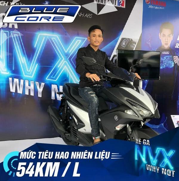 Ấn tượng với khả năng tiết kiệm nhiên liệu của Yamaha NVX