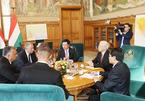 Việt Nam-Hungary ký bản ghi nhớ về hợp tác quốc phòng
