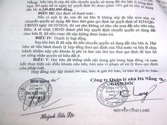 Đà Nẵng,Nhà đất công sản,Vũ nhôm,Phan Văn Anh Vũ