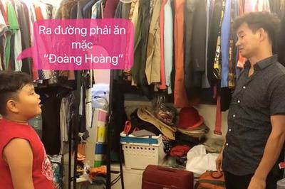 """""""Cười mệt nghỉ"""" ông Bi Béo khi lý sự với bố Xuân Bắc về việc ăn mặc"""