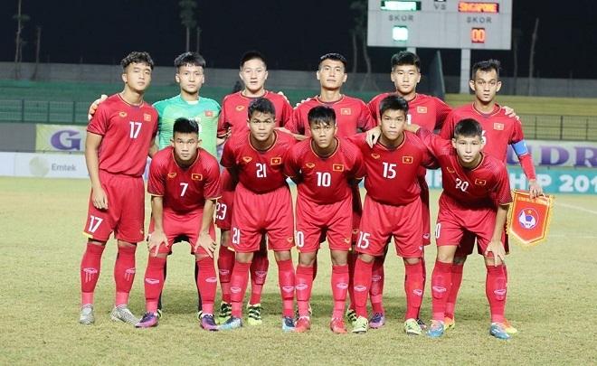 Lịch thi đấu bóng đá,U19 Việt Nam