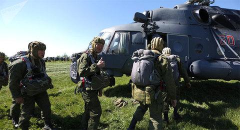 Tập trận quốc tế Vostok 2018 của Nga