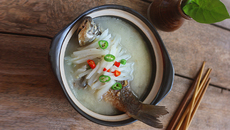 Những món ăn từ cá cho quý ông đạt 'đỉnh cao phong độ'