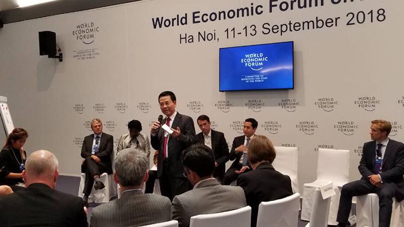 hội nghị WEF ASEAN,diễn đàn kinh tế thế giới,cách mạng 4.0,chuyển đổi số,Bộ TT&TT