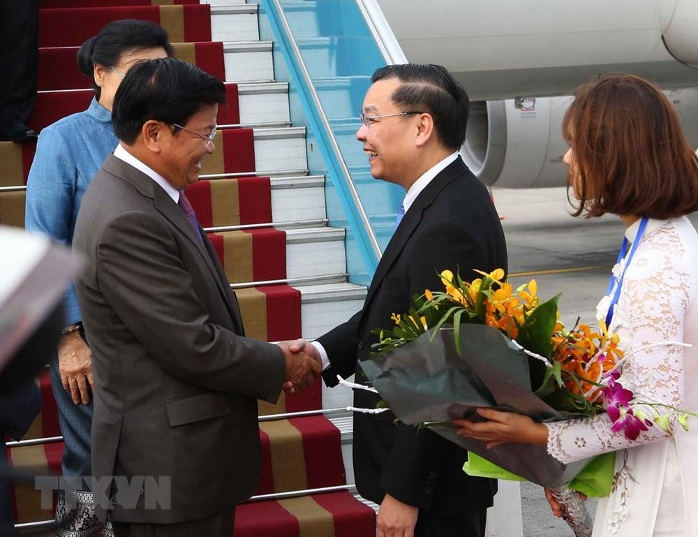 Thủ tướng Singapore đến Hà Nội tham dự WEF ASEAN 2018